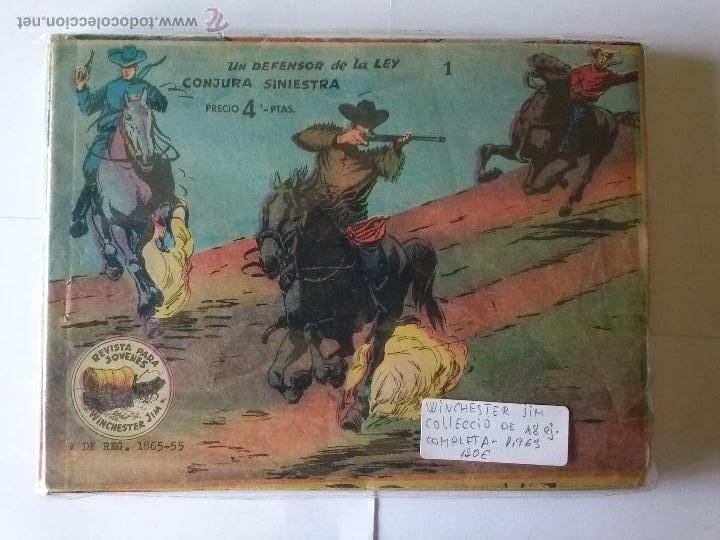 WUINCHESTER JIM - RICAR- COMPLETA DE 4 PTAS- ORIGINAL , COMO NUEVA - COL DE 18 NºS (Tebeos y Comics - Ricart - Aventuras Deportivas)