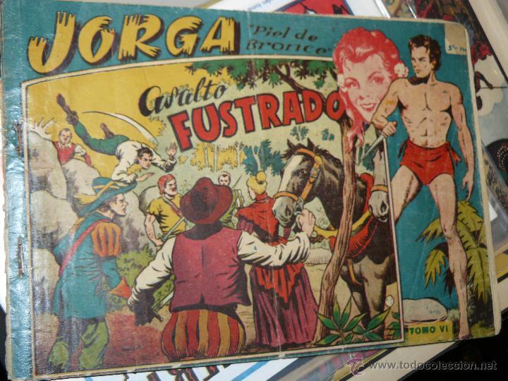 TEBEOS-COMICS CANDY - JORGA ALBUM - RICART - 1955 - Nº 6 - ULTIMO - MUY DIFICIL *UU99 (Tebeos y Comics - Ricart - Jorga)