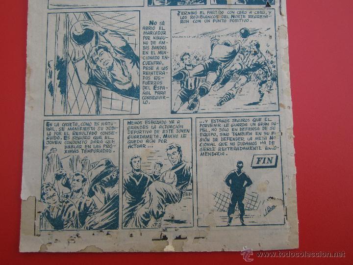 Tebeos: ases del deporte , numero 12 CARMELO portero atletico de bilbao - ricart 1954 - Foto 4 - 43251863