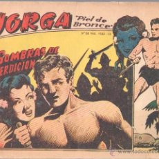 Tebeos: JORGA Nº 6 ORIGINAL EDI. RICART 1963 - FERRANDO. Lote 44431227