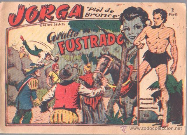JORGA Nº 16 ORIGINAL EDI. RICART 1963 - FERRANDO (Tebeos y Comics - Ricart - Jorga)