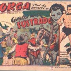 Tebeos: JORGA Nº 16 ORIGINAL EDI. RICART 1963 - FERRANDO. Lote 44431234