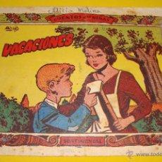 Tebeos: CUENTOS PARA NIÑAS Nº ? COLECCIÓN SENTIMENTAL VACACIONES RICART 1959. Lote 45212141