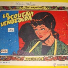 Tebeos: CUENTOS PARA NIÑAS Nº 317 - COLECCIÓN SENTIMENTAL - LA PEQUEÑA VENDEDORA - RICART 1959. Lote 45212230