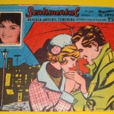 Tebeos: REVISTA JUVENIL COLECCIÓN SENTIMENTAL 248 ROMANCE DE INVIERNO 1959. Lote 134337437