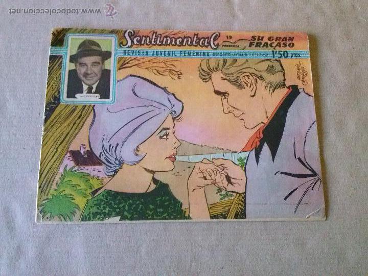 SENTIMENTAL Nº 19 - RICART (Tebeos y Comics - Ricart - Sentimental)