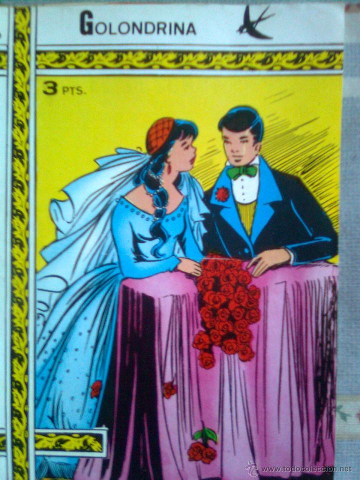 GOLONDRINA-Nº 199 -EL TESORO-1972-DESCUBRAN AL GRAN SANTI SARROCA-PRECIO MUY INTERESANTE-2723 (Tebeos y Comics - Ricart - Golondrina)