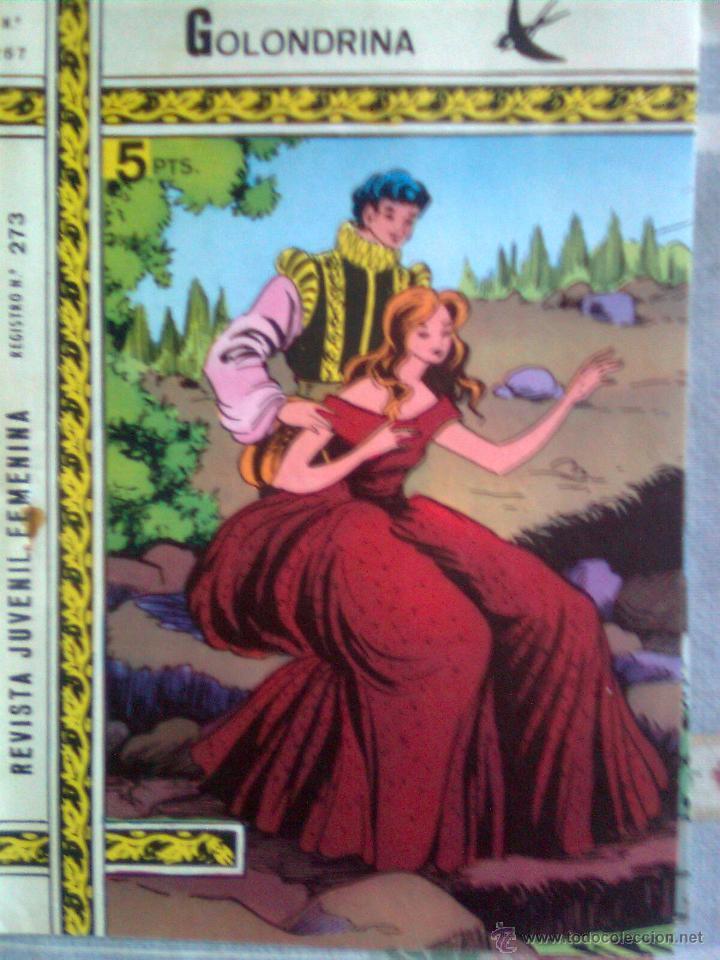 GOLONDRINA-Nº 267 -EL REGALO MEJOR`1974- GRAN ESTILISTA SANTI SARROCA-MUY INTERESANTE-LEAN-2724 (Tebeos y Comics - Ricart - Golondrina)
