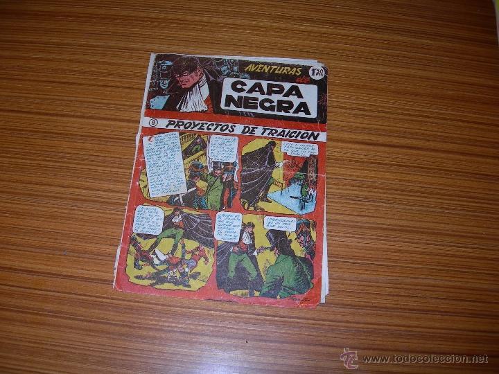 CAPA NEGRA Nº 9 DE RICART (Tebeos y Comics - Ricart - Otros)