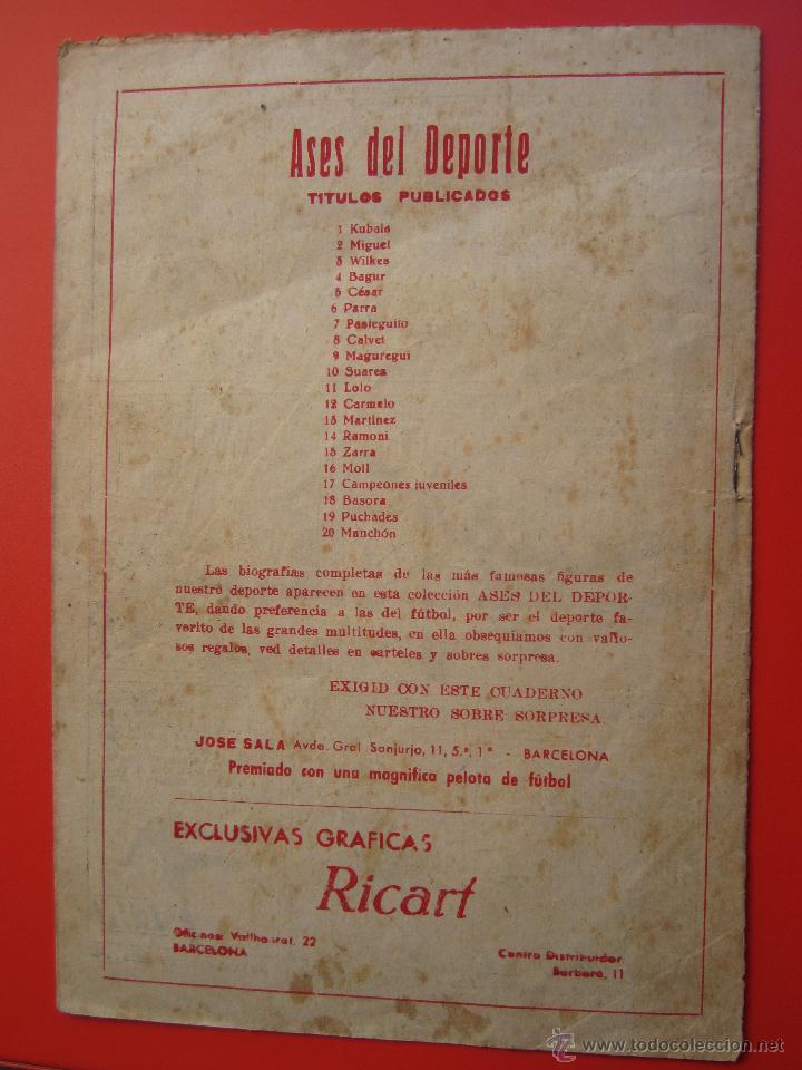 Tebeos: ases del deporte , numero 19 manchon - graficas ricart - Foto 5 - 47362037