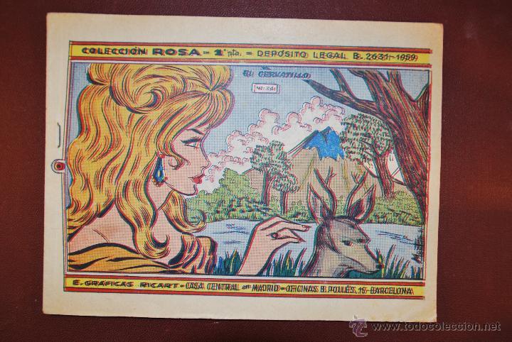 COL. ROSA Nº 034 - EL CERVATILLO - GRAFICAS RICART (Tebeos y Comics - Ricart - Otros)