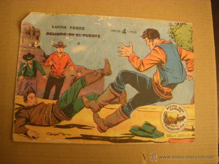 WINCHESTER JIM Nº 4, EDITORIAL VALENCIANA (Tebeos y Comics - Ricart - Otros)