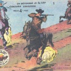 Tebeos: WINCHESTER JIM Nº1 (DE 4 PTAS). RICART, 1963. CONTIENE LAS DOS PRIMERAS AVENTURAS. SIN ABRIR. Lote 47806492