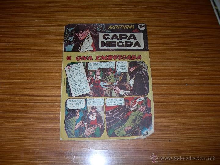 CAPA NEGRA Nº 10 DE RICART (Tebeos y Comics - Ricart - Otros)