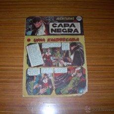 Tebeos: CAPA NEGRA Nº 10 DE RICART. Lote 47951270