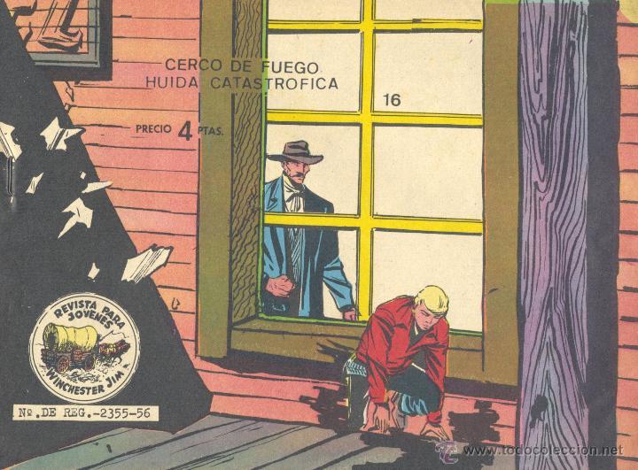 WINCHESTER JIM Nº16 (DOBLE). RICART, AÑOS 60. DIBUJOS JULIO BOSCH (Tebeos y Comics - Ricart - Otros)