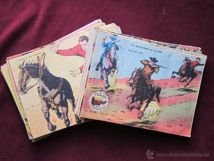 WINCHESTER JIM -CARAVANA- COMPLETA 36 EJEMPLARES. ED. RICART 1963. 2 PTS BASTANTE BUENOS TEBENI (Tebeos y Comics - Ricart - Otros)