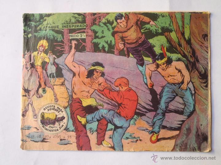 WINCHESTER JIM - NÚM 4 - ATAQUE INESPERADO - GRÁFICAS MUÑOZ - ORIGINAL (Tebeos y Comics - Ricart - Otros)