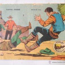 Tebeos: WINCHESTER JIM - NÚM 7 - LUCHA FEROZ - GRÁFICAS RICART- ORIGINAL . Lote 48931038