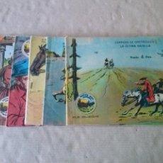 Tebeos: WINCHESTER JIM 4 PTAS. Nº 2,3,7,8 ,18 -RICART 1965. Lote 49006584