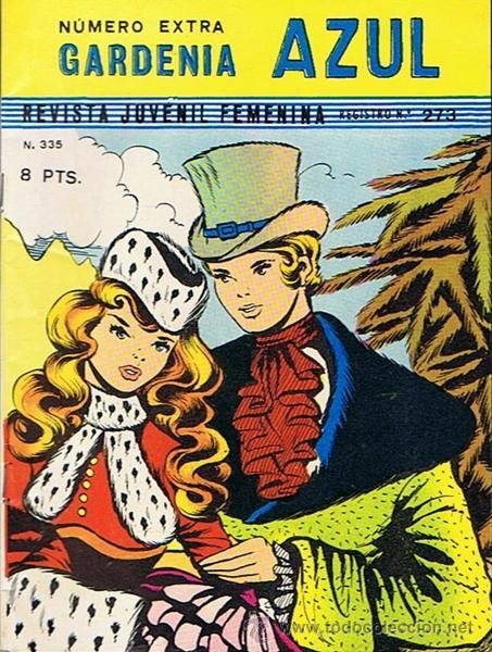 NÚMERO EXTRA GARDENIA AZUL Nº 335 (Tebeos y Comics - Ricart - Otros)