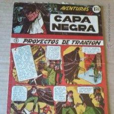 Tebeos: AVENTURAS DE CAPA NEGRA - Nº 9 - RICART -T. Lote 51409271