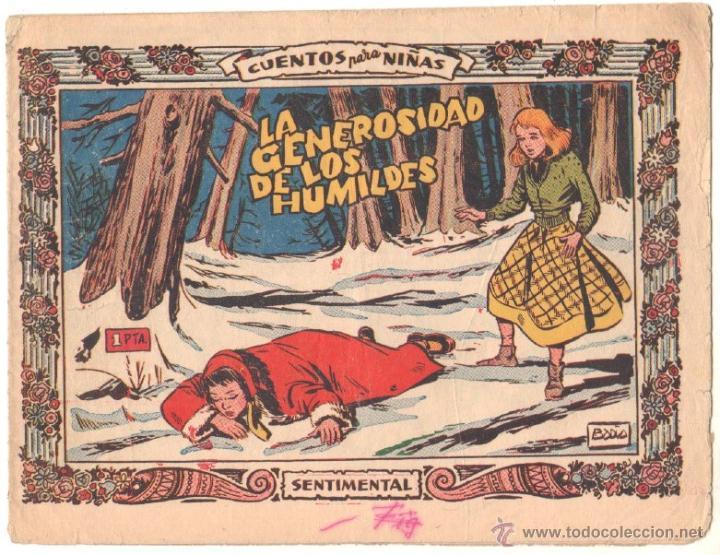 CUENTOS PARA NIÑAS SENTIMENTAL Nº 236 ORIGINAL EDI. RICART 1954 - DIBUJOS DE BADÍA (Tebeos y Comics - Ricart - Sentimental)