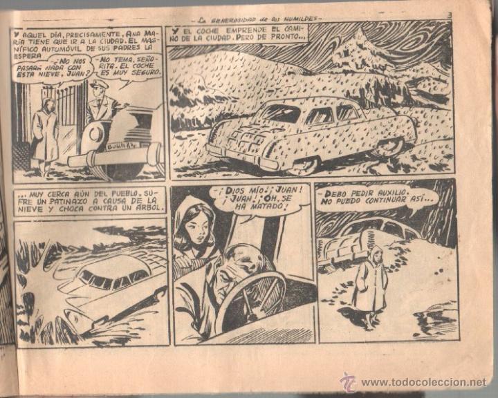 Tebeos: CUENTOS PARA NIÑAS SENTIMENTAL Nº 236 ORIGINAL EDI. RICART 1954 - DIBUJOS de BADÍA - Foto 2 - 51411945
