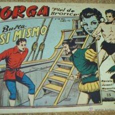 Tebeos: JORGA Nº 15---- RICART --- ORIGINAL 1963- LEER. Lote 52489204