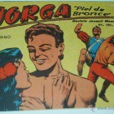 Tebeos: JORGA Nº 18 Y ÚLTIMO - RICART 1963- ORIGINAL MUY COMPLICADO - LEER. Lote 52489244