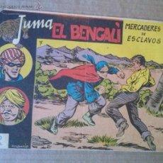 Tebeos: JUMA EL BENGALI - Nº 7 - RICART - COL. DE 12 - TA. Lote 54355274
