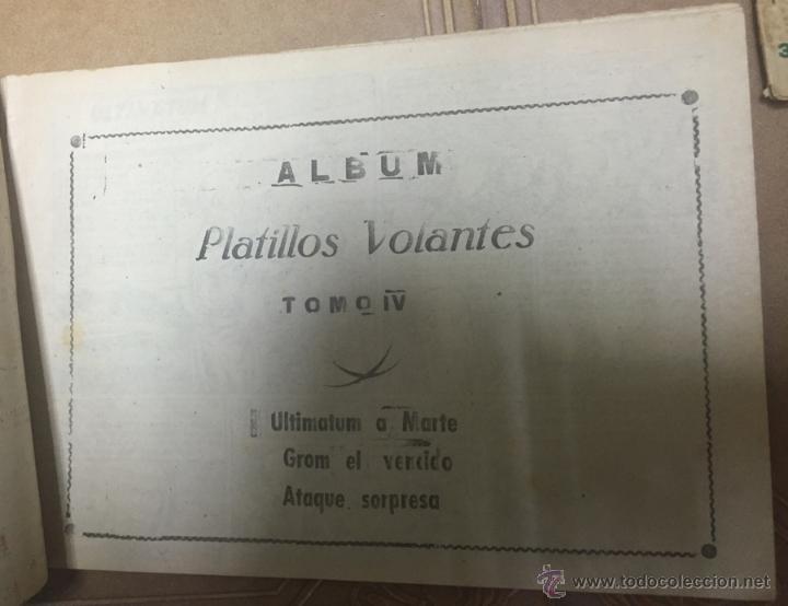 Tebeos: PLATILLOS VOLANTES ORIGINAL EDITORIAL RICART 1955-56, COMPLETA 5 TOMOS CON LOS 15 TEBEOS, EN CADA TO - Foto 10 - 54923804