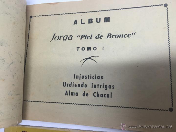Tebeos: JORGA PIEL DE BRONCE, COLECCION COMPLETA, 6 TOMOS, CON 18 TEBEOS, CADA TOMO LLEVA 3 TEBEOS, BUEN ES - Foto 4 - 54925637