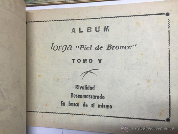 Tebeos: JORGA PIEL DE BRONCE, COLECCION COMPLETA, 6 TOMOS, CON 18 TEBEOS, CADA TOMO LLEVA 3 TEBEOS, BUEN ES - Foto 8 - 54925637