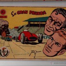 Tebeos: N° 2 LA GRAN PRUEBA AVENTURAS DEPORTIVAS, GRAFICAS RICART 1963. CUADERNOS ORIGINALES. Lote 54926561