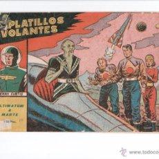 PLATILLOS VOLANTES Nº 10 ED.RICART 1953
