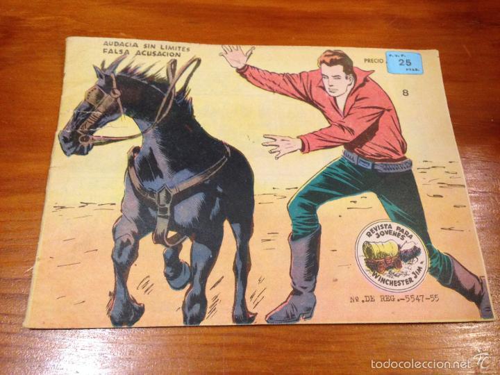 WINCHESTER JIM Nº 8. 4 PTS. 1965 EXCLUSIVAS GRAFICAS RICART. JULIO BOSCH. (Tebeos y Comics - Ricart - Otros)