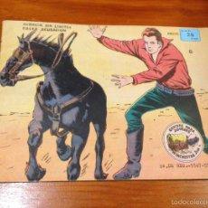 Tebeos: WINCHESTER JIM Nº 8. 4 PTS. 1965 EXCLUSIVAS GRAFICAS RICART. JULIO BOSCH. . Lote 55696527