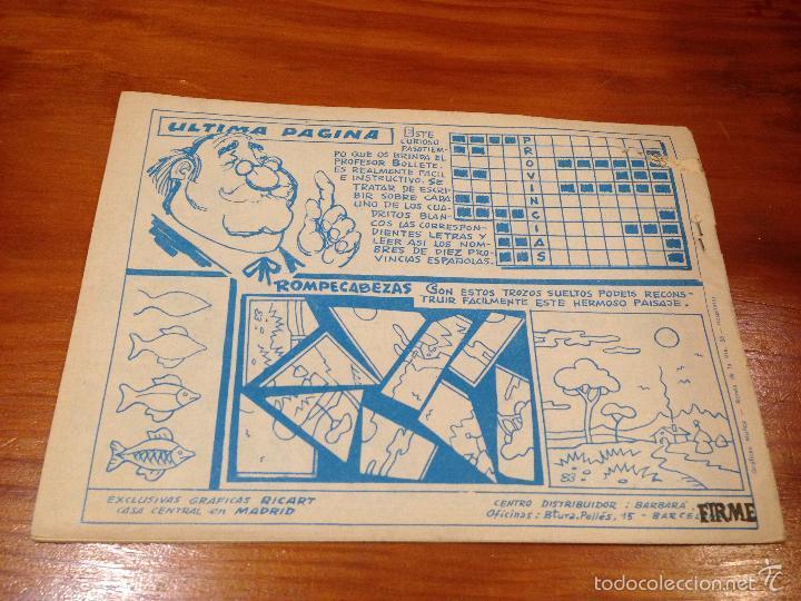 Tebeos: WINCHESTER JIM Nº 8. 4 PTS. 1965 EXCLUSIVAS GRAFICAS RICART. JULIO BOSCH. - Foto 2 - 55696527