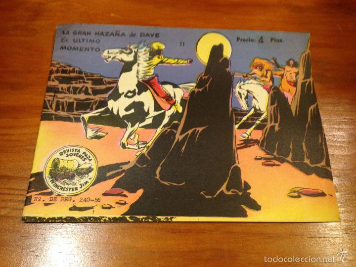 WINCHESTER JIM Nº 11. 4 PTS. 1965 EXCLUSIVAS GRAFICAS RICART. JULIO BOSCH. (Tebeos y Comics - Ricart - Otros)