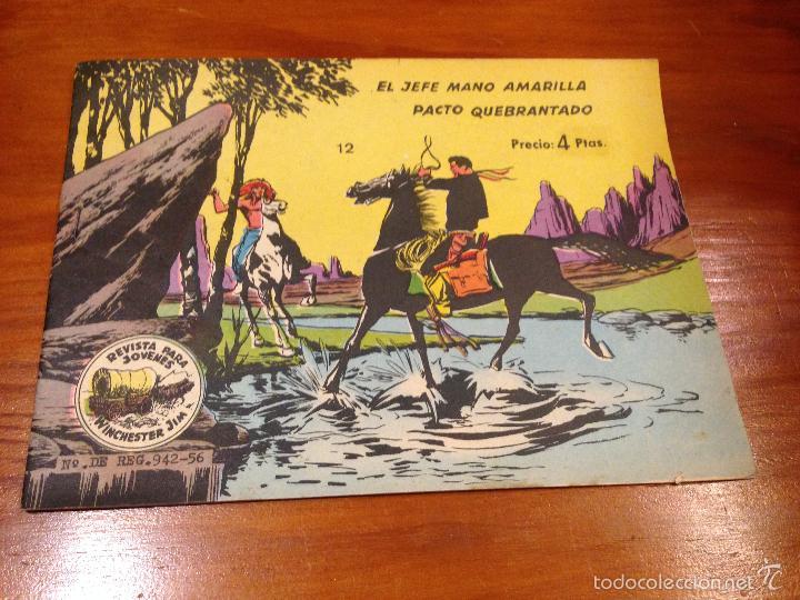 WINCHESTER JIM Nº 12. 4 PTS. 1965 EXCLUSIVAS GRAFICAS RICART. JULIO BOSCH. (Tebeos y Comics - Ricart - Otros)