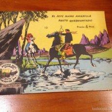 Tebeos: WINCHESTER JIM Nº 12. 4 PTS. 1965 EXCLUSIVAS GRAFICAS RICART. JULIO BOSCH.. Lote 55696571