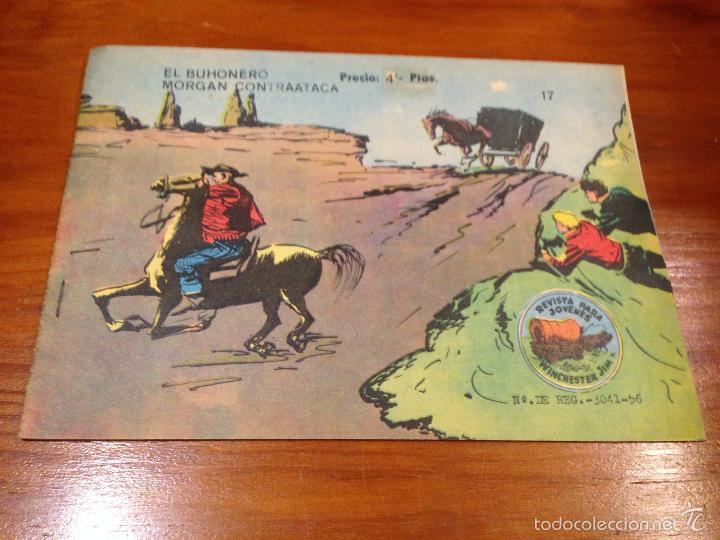 WINCHESTER JIM Nº 17. 4 PTS. 1965 EXCLUSIVAS GRAFICAS RICART. JULIO BOSCH. (Tebeos y Comics - Ricart - Otros)
