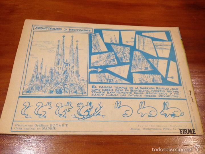 Tebeos: WINCHESTER JIM Nº 17. 4 PTS. 1965 EXCLUSIVAS GRAFICAS RICART. JULIO BOSCH. - Foto 2 - 55696645