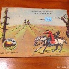 Tebeos: WINCHESTER JIM Nº 18. 4 PTS. 1965 EXCLUSIVAS GRAFICAS RICART. JULIO BOSCH.. Lote 55696649