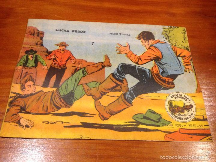 WINCHESTER JIM Nº 7. 2 PTS. 1963 EXCLUSIVAS GRAFICAS RICART. (Tebeos y Comics - Ricart - Otros)