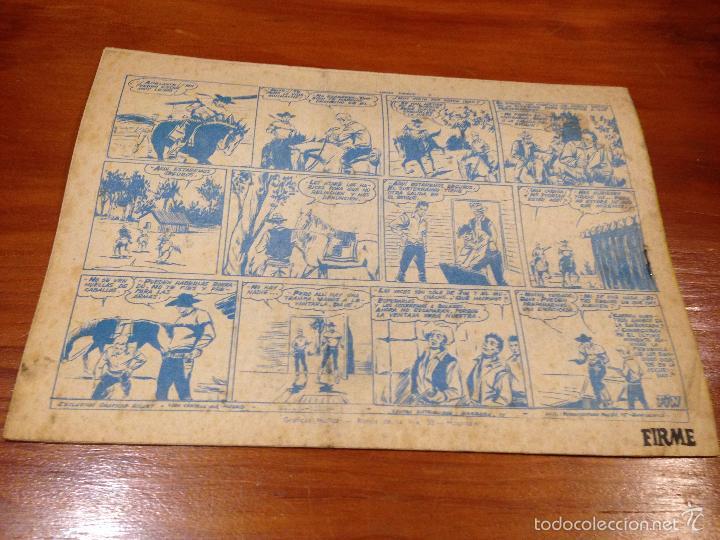 Tebeos: WINCHESTER JIM Nº 7. 2 PTS. 1963 EXCLUSIVAS GRAFICAS RICART. - Foto 2 - 55701653