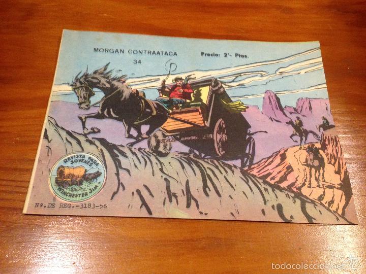 WINCHESTER JIM Nº 34. 2 PTS. 1964 EXCLUSIVAS GRAFICAS RICART. (Tebeos y Comics - Ricart - Otros)