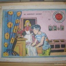 Tebeos: GARDENIA AZUL EL JARRON CHINO Nº11 AÑO 1959. Lote 55932641