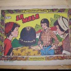 Tebeos: CUENTOS PARA NIÑAS,LA MALA Nº359 AÑO 1959. Lote 56252186